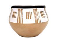 Vintage Denby Kenneth Clark Stoneware Pottery Vase Circa 1956