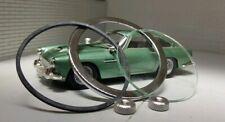 "Aston Martin DB4 DB5 2"" Jaeger Smiths Gauge Reconditioning Kit Glass Flat Bezel"
