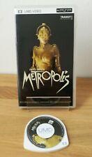 Fritz Lang's Metropolis UMD Original deutsche Erstausgabe SELTENSTE UMD