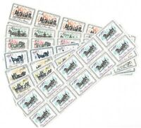 DEALER STOCK SAN MARINO MNH Nuovi 1969 Horse Coaches 7v 10 SETS s32724