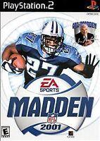 Madden NFL 2001 (Sony PlayStation 2, 2000)VG