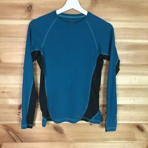 Rab Aeon Long Sleeve Womens T Shirt Blue UK 12