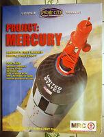 Mercury Kapsel komplett mit Astronaut, 1:12, MRC 62001