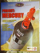 Mercury cápsula completo con astronauta, 1:12, 62001 MRC