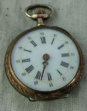 antike Damen Taschenuhr Silber sehr schön läuft