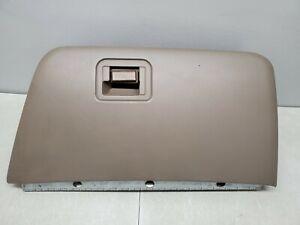 2000-2002 Ford F250 F350 Glove Box DARK TAN Super Duty GloveBox METAL HINGE OEM