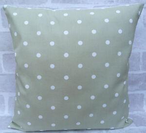 "Clarke & Clarke Sage Dotty Spot cushion cover all sizes 16"" inch"