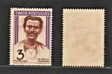 Timor 1948 Head of Chieftains (1v, RARE Key Value) MNH