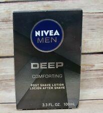 Nivea Men Deep Comforting Post Shave Lotion After Shave 3.3 oz