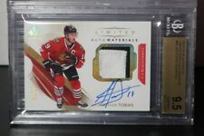 2017-18 SP Authentic Jonathan Toews Limited GU Patch Auto #16/25 BGS 9.5/10 DSR