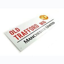 Manchester United Old Trafford Panneau de Rue Chambre D'Enfant