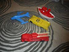 Vintage Lot of 6 Plastic Toys