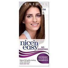 Clairol Nice'n Easy Semi-Permanent Hair Dye No Ammonia 755 Light Brown