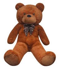 vidaXL Soft Plush Teddy Bear Cotton Brown 150cm Toy