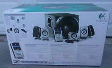 LOGITECH Z5500 THX-CERTIFIED 5.1 DIGITAL SURROUND SOUND SPEAKER IN BOX Z-5500!