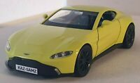 PERSONALISED PLATE ASTON MARTIN VANTAGE MODEL DIECAST CAR BOXED NEW BOYS TOYS