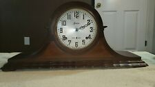 ANTIQUE SESSIONS MANTEL CLOCK WESTMINSTER CHIMES 8 Day Clock