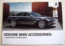 BMW . 7 . BMW 7 Series . Accessories 2010 Sales Brochure