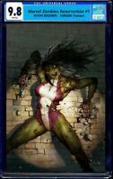 PRE-ORDER: Marvel zombies resurrection #1 RYAN BROWN Virgin VARIANT CGC 9.8 MINT