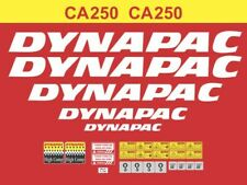 Adhesive sticker customize Smooth Drum Dynapac ca 250