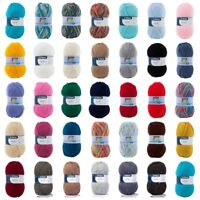 Patons FAB DK Yarn 100g Balls - Machine Washable - Every Colour - Free Postage