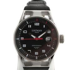 Locman Montecristo Watch Man Just Time Automatic 41 mm 0541A01S-00BKRDPK
