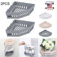 Shower Caddy Shelf Bathroom Corner Bath Storage Holder Organizer Triangular Rack