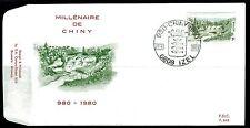 Belgium obp 1991 - CHINY  PONT St-NICOLAS  - 1980 - FDC IZEL