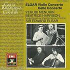 Elgar;Violin Concerto, Cello Concerto / Menuhin, Harrison - CD Emi References
