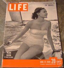 Life - Inland Sailing - June 27, 1949, The Kiss by Rodin & Los Alamos