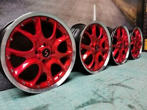"""REFURBISHED Genuine MINI 17"""" Ronal split 4x100 alloy wheels R50 R52 R53 R56 R57"""