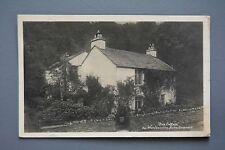 R&L Postcard: William Wordsworth Home Cottage Grasmere, GP Abrham Real Photo