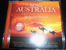 TREVOR KNIGHT Sing Australia CD – Like New