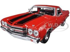 1970 CHEVROLET EL CAMINO SS 396 RED 1/24 DIECAST MODEL CAR BY MOTORMAX 79347