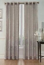 "Whittier 2 Panels Basic Rod Pocket Sheer Window Curtain Panels 54"" X 84"""
