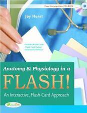 Anatomy & Physiology in a Flash! Book & Flash Cards: An Interactive, Flash-Car..