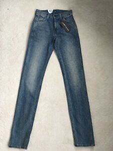 NEW Levis Line 8 Slim Fit Unisex Mens Ladies Stretch Jeans W23 L32(1310)
