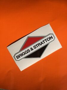briggs and stratton decal stickers x 2