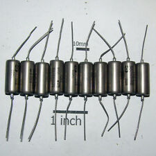 10 x 200V / 0.047uF .047uF 47nf . K40Y-9 / K40U9 . PIO PAPER TONE CAPACITORS.
