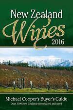 NEW ZEALAND WINES 2016 - COOPER, MICHAEL - NEW PAPERBACK BOOK