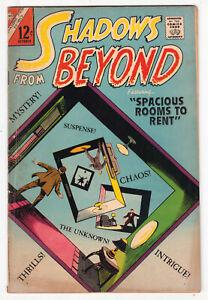 Shadows From Beyond #50, STEVE DITKO, PAT BOYETTE, Charlton 1966 VG+ r