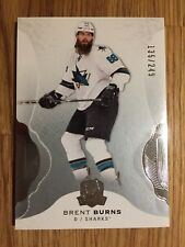 2016-17 UD THE CUP - SHARKS - #78 BRENT BURNS BASE CARD - 135/250!