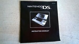Nintendo DS Console System Instruction Booklet NTR-UKV-1 - Fast Post - VGC