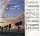 Indra Sinha = LA MORTE DI MISTER LOVE