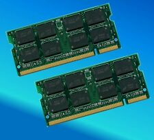 2GB 2 x 1 GB DDR2 800 MHZ PC2 6400 DIMM Memory RAM non ecc per Laptop 200 pin 2G