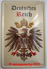 Blechschild 20x30 cm - Deutsches Reich