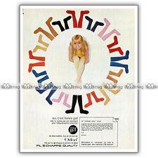 PUB FRANCE GALL & les chaussettes MISS GEF - Original Advert / Publicité 1967