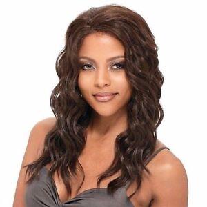 Freetress Equal Whole Lace 100% Hand Tied LONG WAVY  HAIR WIG - AQUA