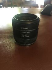 Canon EF 35-70mm f/3.5-4.5A Zoom Camera Lens