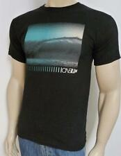 O'Neill Wave Pixelation Graphic Tee Black T-Shirt New NWT Mens Small